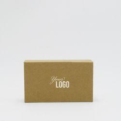 Boîte aimantée personnalisée Hingbox 12x7x3 CM | HINGBOX | IMPRESSION À CHAUD