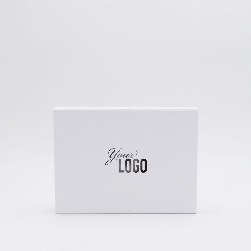 Boîte aimantée personnalisée Flatbox 22x16x3 CM | EVOBOX | IMPRESSION À CHAUD
