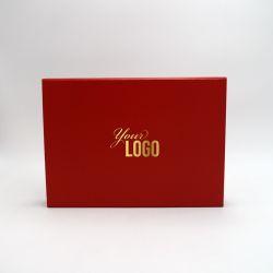 Boîte aimantée personnalisée Flatbox 31x22x4CM | EVOBOX | IMPRESSION À CHAUD