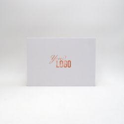 Boîte aimantée personnalisée Hingbox 30x21x2 CM | HINGBOX | IMPRESSION À CHAUD