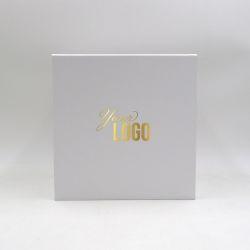 Boîte aimantée personnalisée Cubox 22x22x22 CM   CUBOX  IMPRESSION À CHAUD