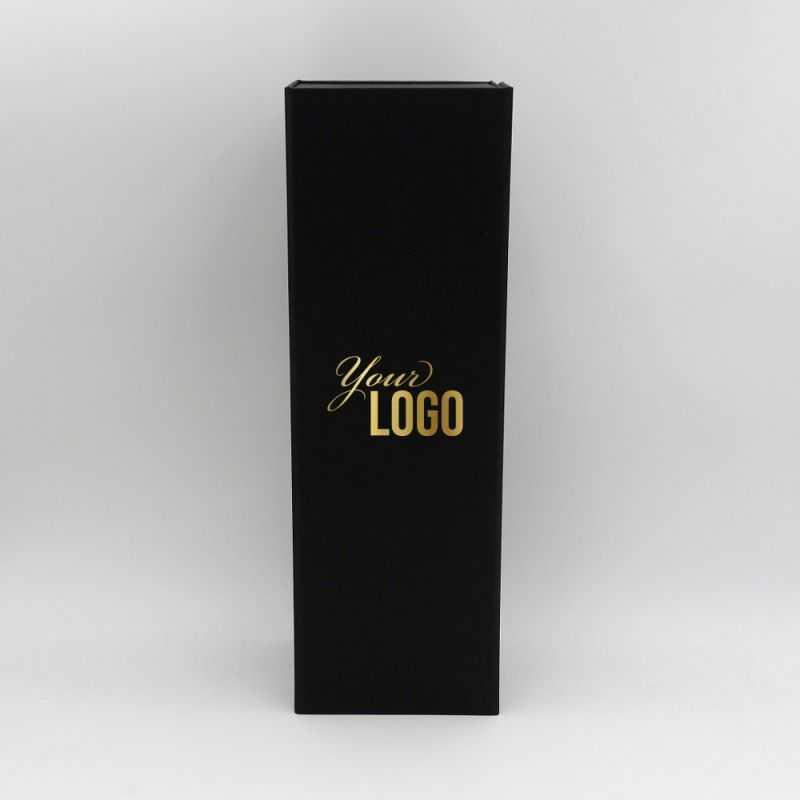 40,5x12x12 cm   BOTTLE BOX   Impression à chaud 1 couleur