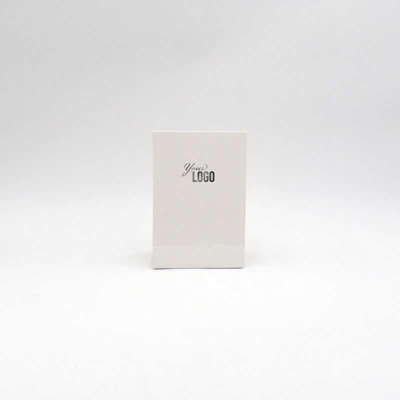 Pochette papier personnalisée Noblesse 12x6x18 CM   POCHETTE PAPIER NOBLESSE   IMPRESSION A CHAUD