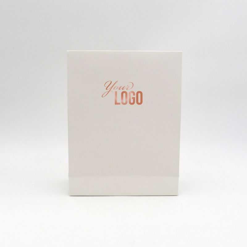 Pochette papier personnalisée Noblesse 22x8x29 CM   POCHETTE PAPIER NOBLESSE   IMPRESSION A CHAUD