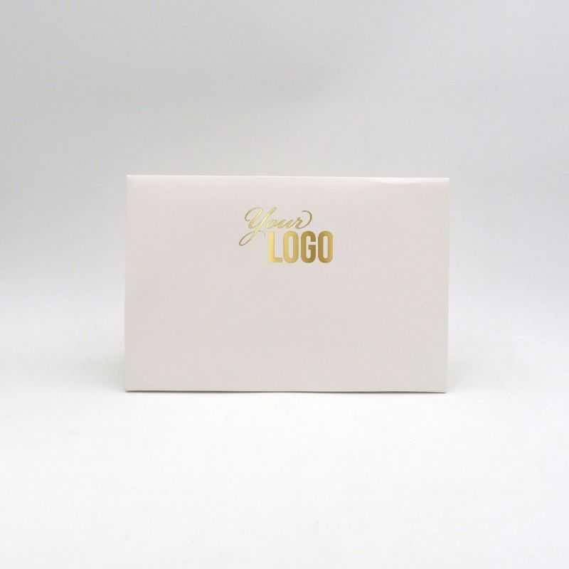 Pochette papier personnalisée Noblesse 30x10x20 CM | POCHETTE PAPIER NOBLESSE | IMPRESSION A CHAUD