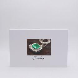 Boîte aimantée personnalisée Hingbox 30x21x2 CM | HINGBOX | IMPRESSION NUMERIQUE ZONE PRÉDÉFINIE