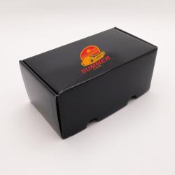 Boîte d'expédition personnalisée Postpack 23x12x10,8 CM | POSTPACK PLASTIFIÉ | IMPRESSION EN SÉRIGRAPHIE SUR UNE FACE EN DEUX...