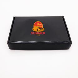 Boîte d'expédition personnalisée Postpack 23x17x3,8 CM | POSTPACK PLASTIFIÉ | IMPRESSION EN SÉRIGRAPHIE SUR UNE FACE EN DEUX ...