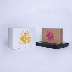 Boîte Postpack standard 31,5x22,5x3 CM | POSTPACK | IMPRESSION EN SÉRIGRAPHIE SUR UNE FACE EN UNE COULEUR