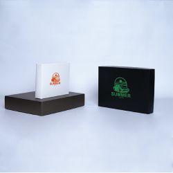 Boîte cloche personnalisée Campana 52x40x9 CM | CAMPANA | IMPRESSION EN SÉRIGRAPHIE SUR UNE FACE EN UNE COULEUR